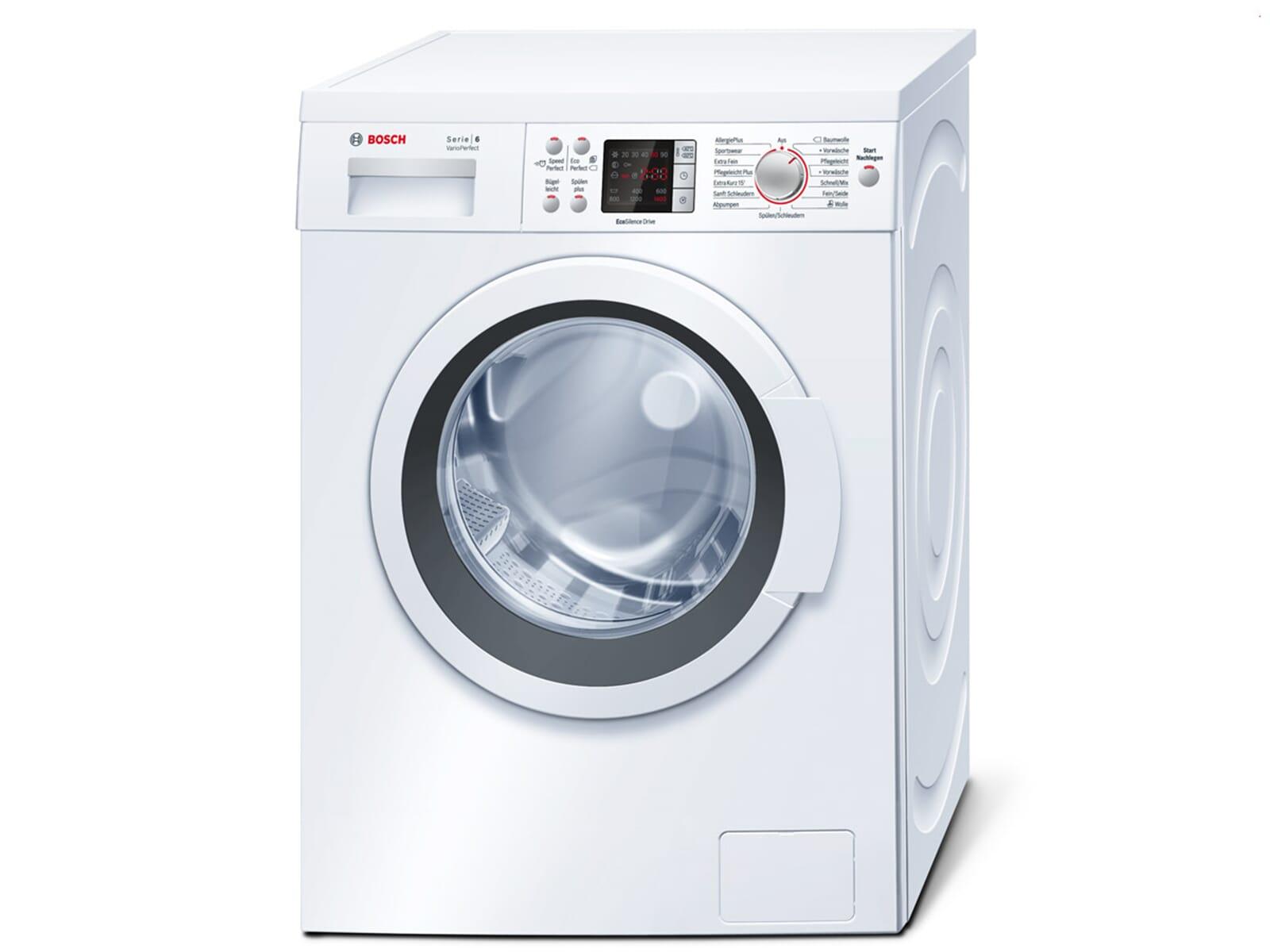 bosch waq28422 stand waschmaschine wei waschvollautomat frontlader 7kg ebay. Black Bedroom Furniture Sets. Home Design Ideas
