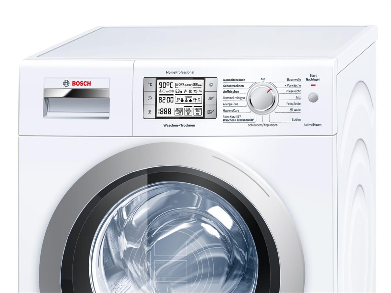 bosch whv30540 stand waschtrockner wei f r 1128 90 eur. Black Bedroom Furniture Sets. Home Design Ideas