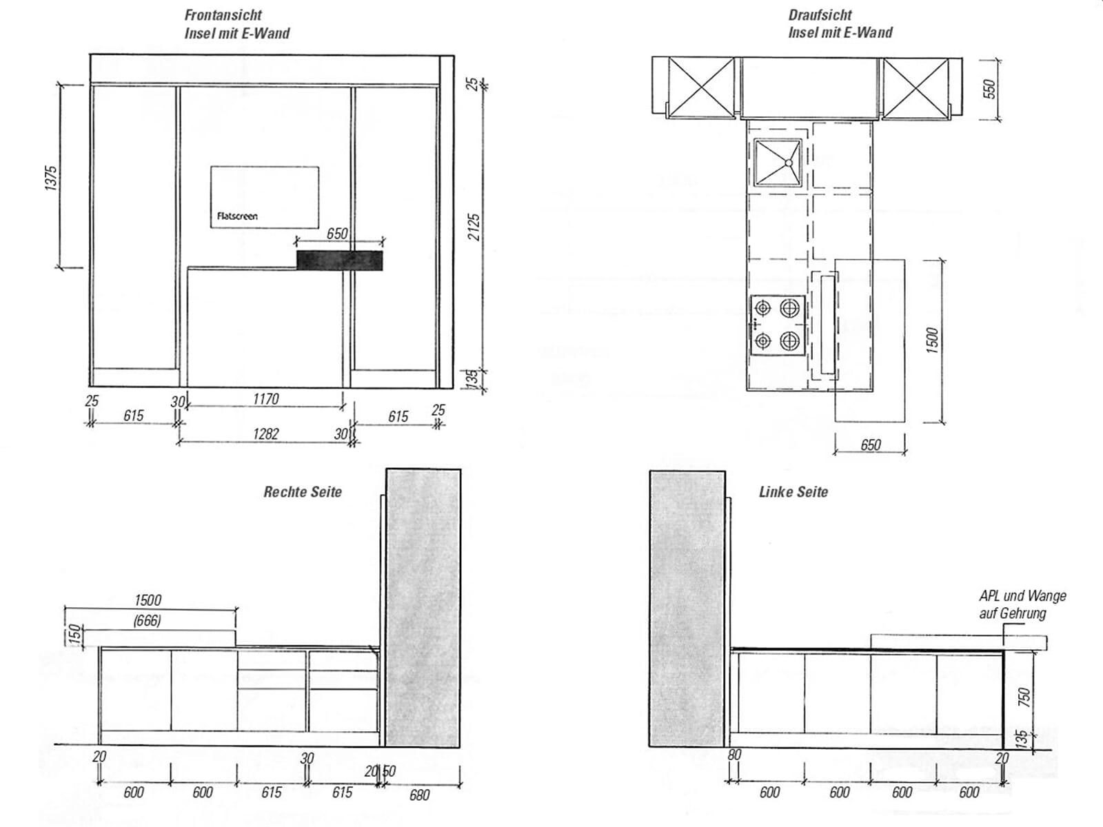 eggersmann technikk che kochinsel mit adnotam tv hinter glas und schiebet renschrank. Black Bedroom Furniture Sets. Home Design Ideas