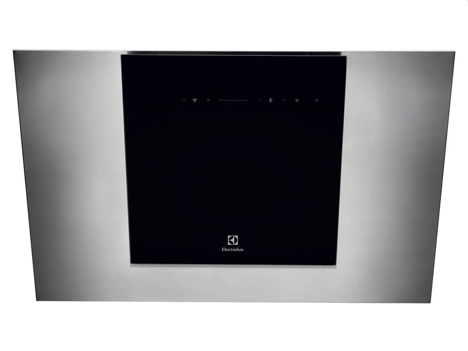 aeg electrolux eff80680bx kopffrei wand dunstabzugshaube edelstahl schwarz 80cm ebay. Black Bedroom Furniture Sets. Home Design Ideas