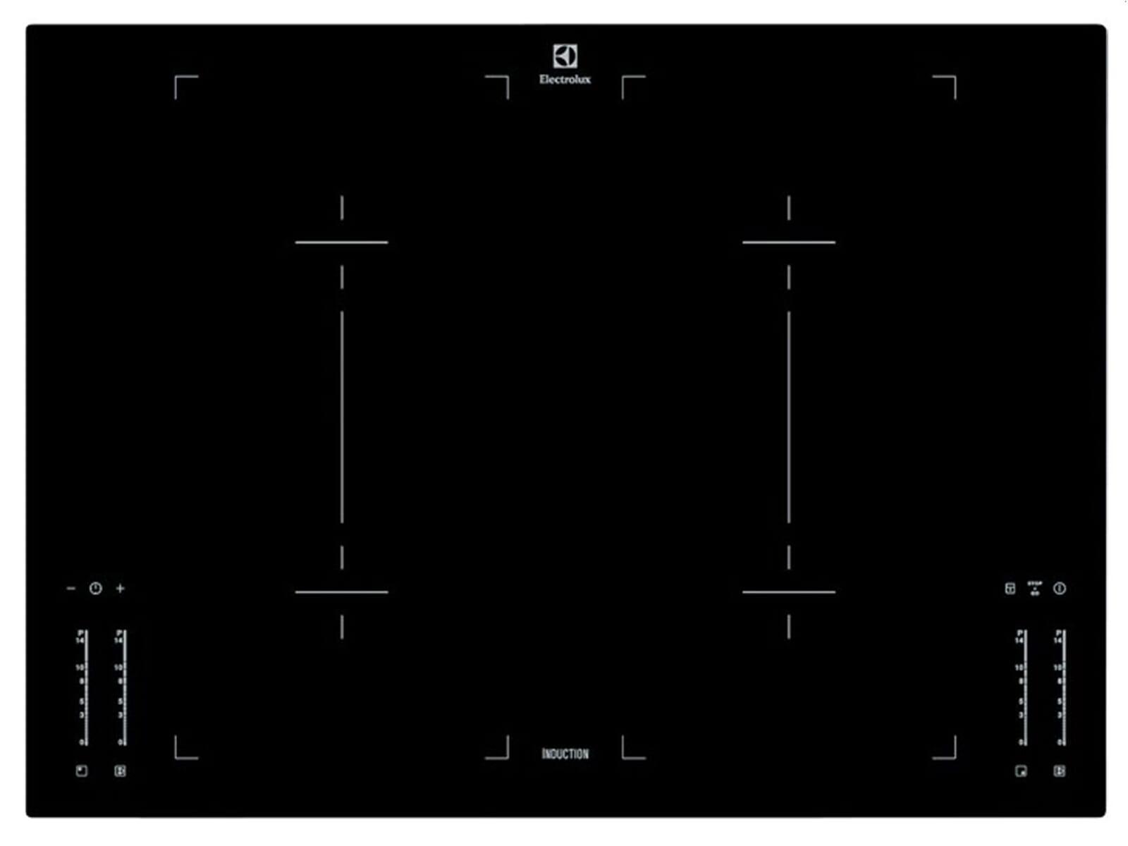 aeg electrolux ehl7640iok induktion glaskeramik kochfeld autark. Black Bedroom Furniture Sets. Home Design Ideas