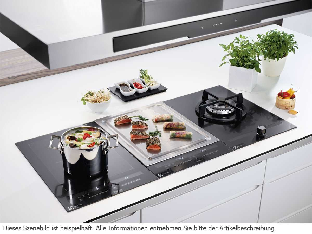 aeg electrolux eqt4520bog domino kochfeld teppan yaki. Black Bedroom Furniture Sets. Home Design Ideas
