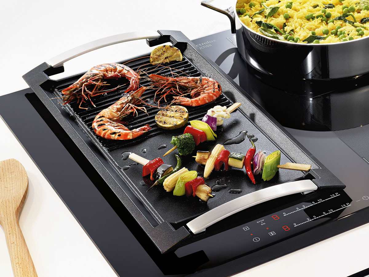 electrolux infinite plancha grill grillplatte ebay. Black Bedroom Furniture Sets. Home Design Ideas