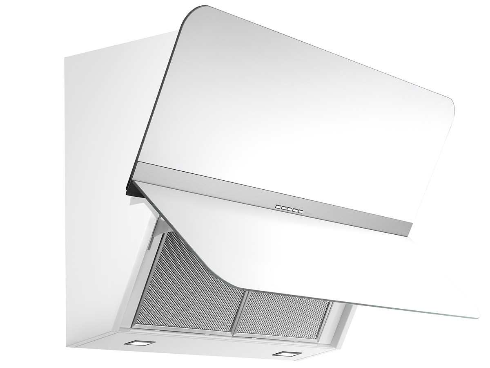 falmec flipper kopffrei wand dunstabzugshaube wei f r 1079 10 eur. Black Bedroom Furniture Sets. Home Design Ideas