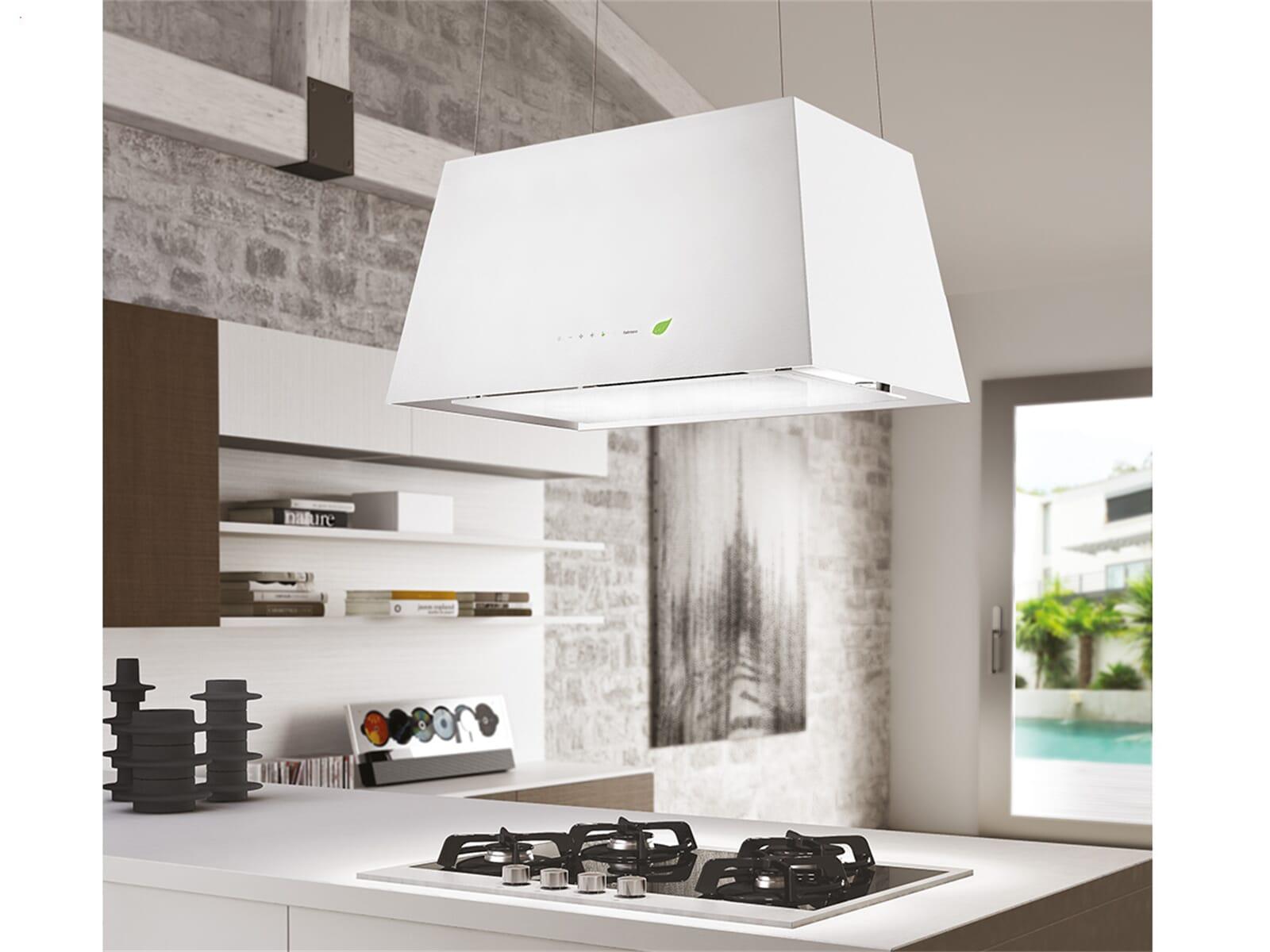 falmec lumi re insel dunstabzugshaube wei f r 2511. Black Bedroom Furniture Sets. Home Design Ideas