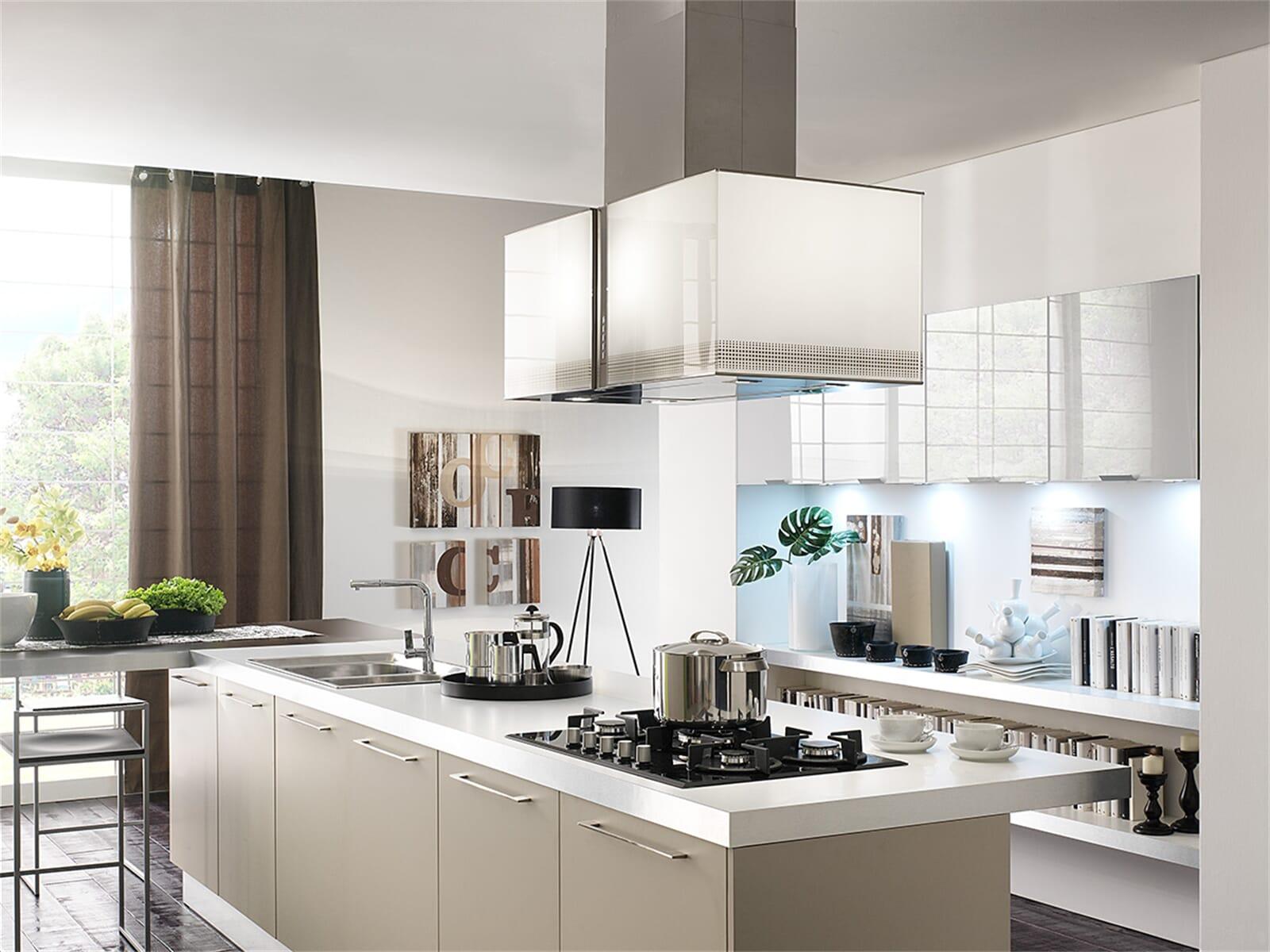 falmec mirabilia platinum insel dunstabzugshaube edelstahl. Black Bedroom Furniture Sets. Home Design Ideas