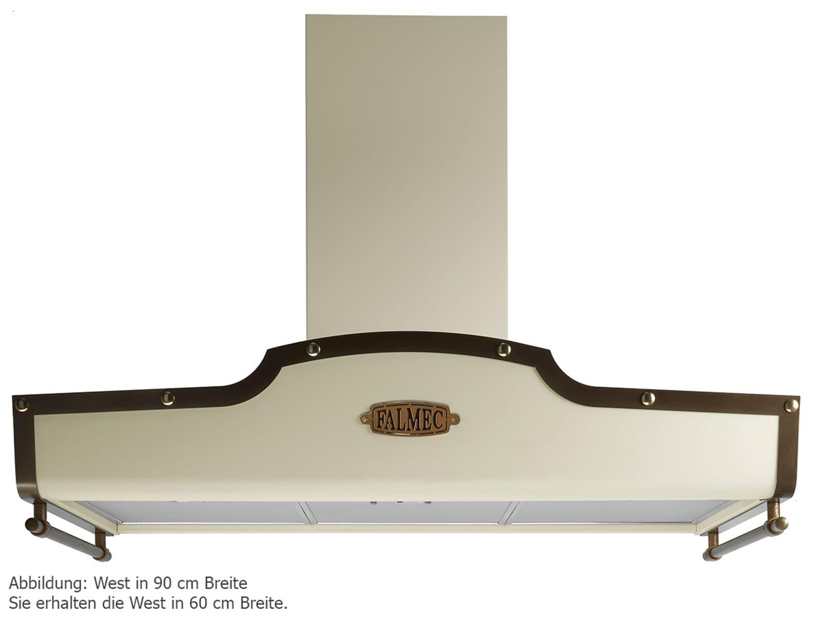 falmec west wand dunstabzugshaube elfenbein wandhaube. Black Bedroom Furniture Sets. Home Design Ideas