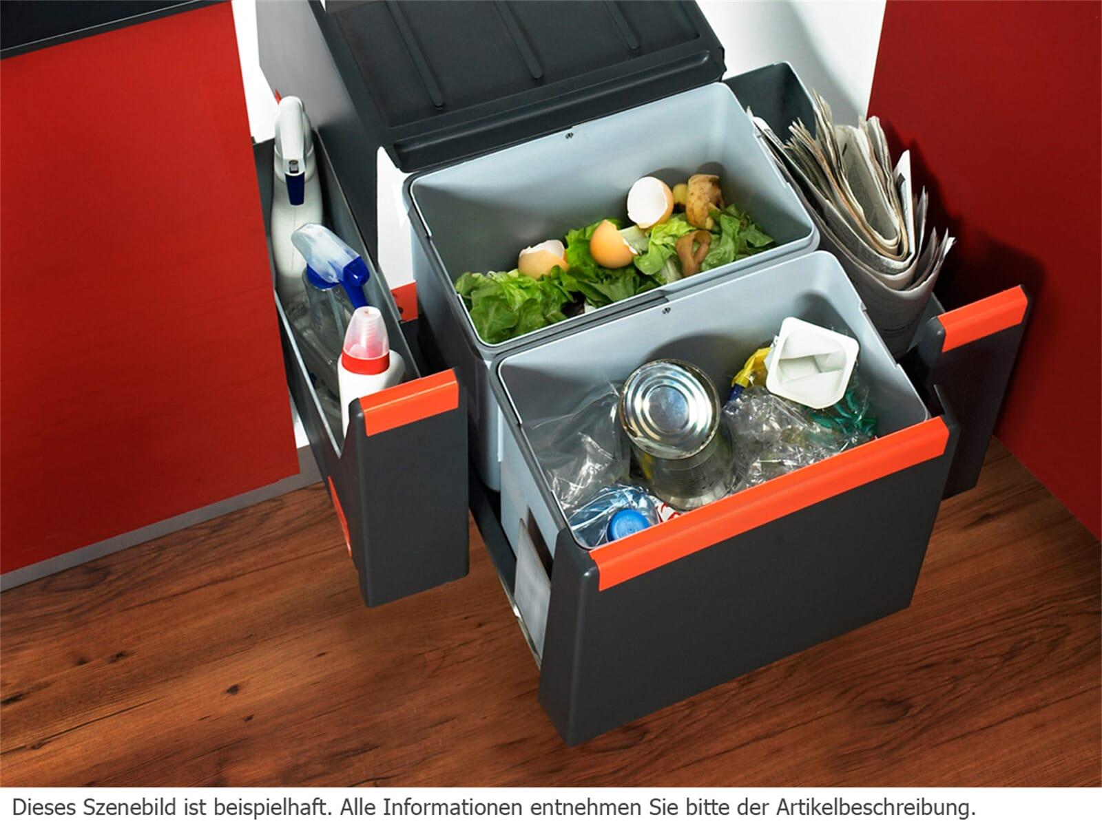 franke sorter cube 40 einbau abfallsammler m lltrennsystem k che ebay. Black Bedroom Furniture Sets. Home Design Ideas