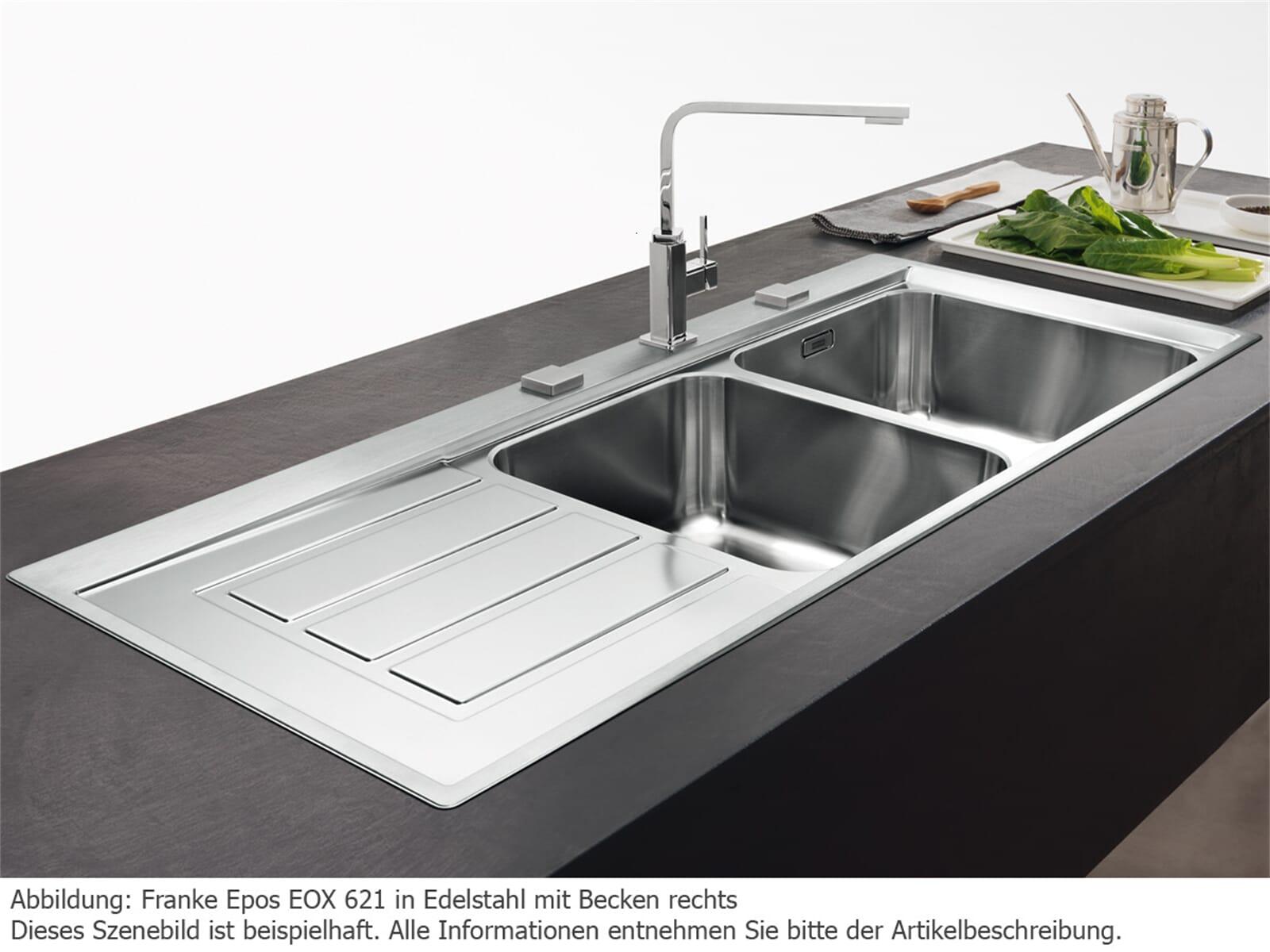 franke eox621. Black Bedroom Furniture Sets. Home Design Ideas