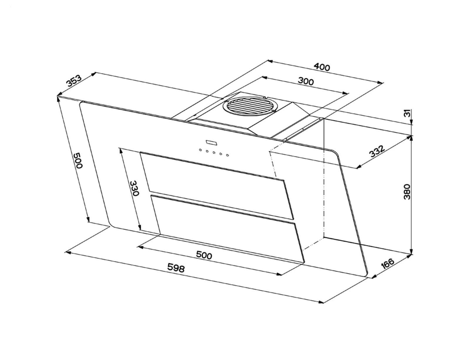 franke maris fma 605 pg kopffreihaube wand esse dunstabzugshaube perlgrau haube ebay. Black Bedroom Furniture Sets. Home Design Ideas