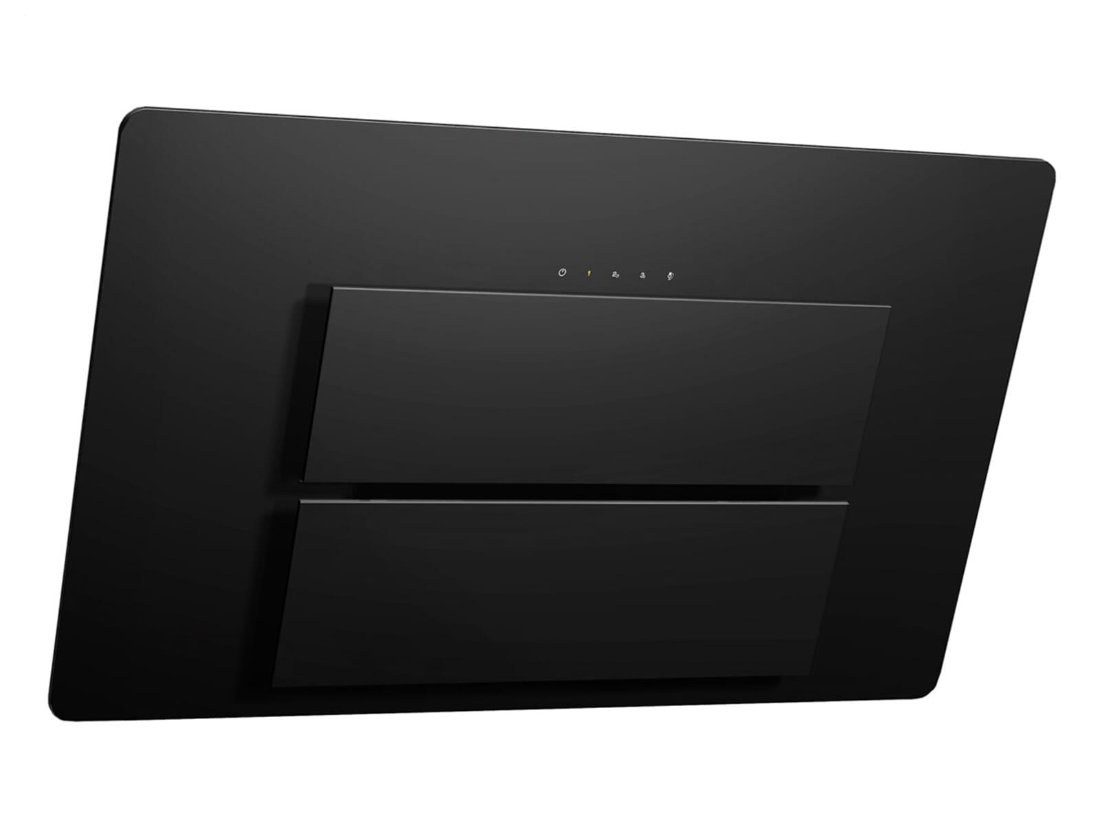 franke maris fma 805 bk kopffrei abzugshaube schwarz glas randabsaugung wandesse ebay. Black Bedroom Furniture Sets. Home Design Ideas