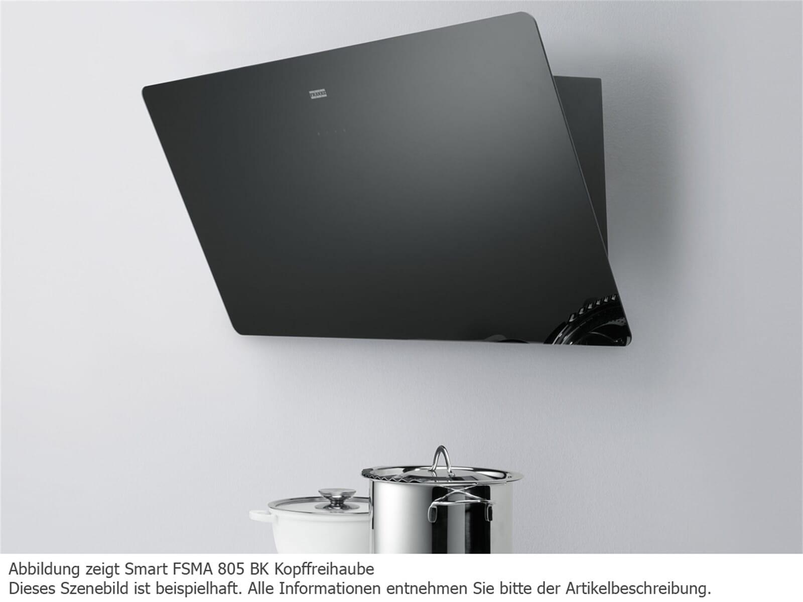 franke smart fsma 805 wh kopffrei wand dunstabzugshaube wei f r 438 90 eur. Black Bedroom Furniture Sets. Home Design Ideas