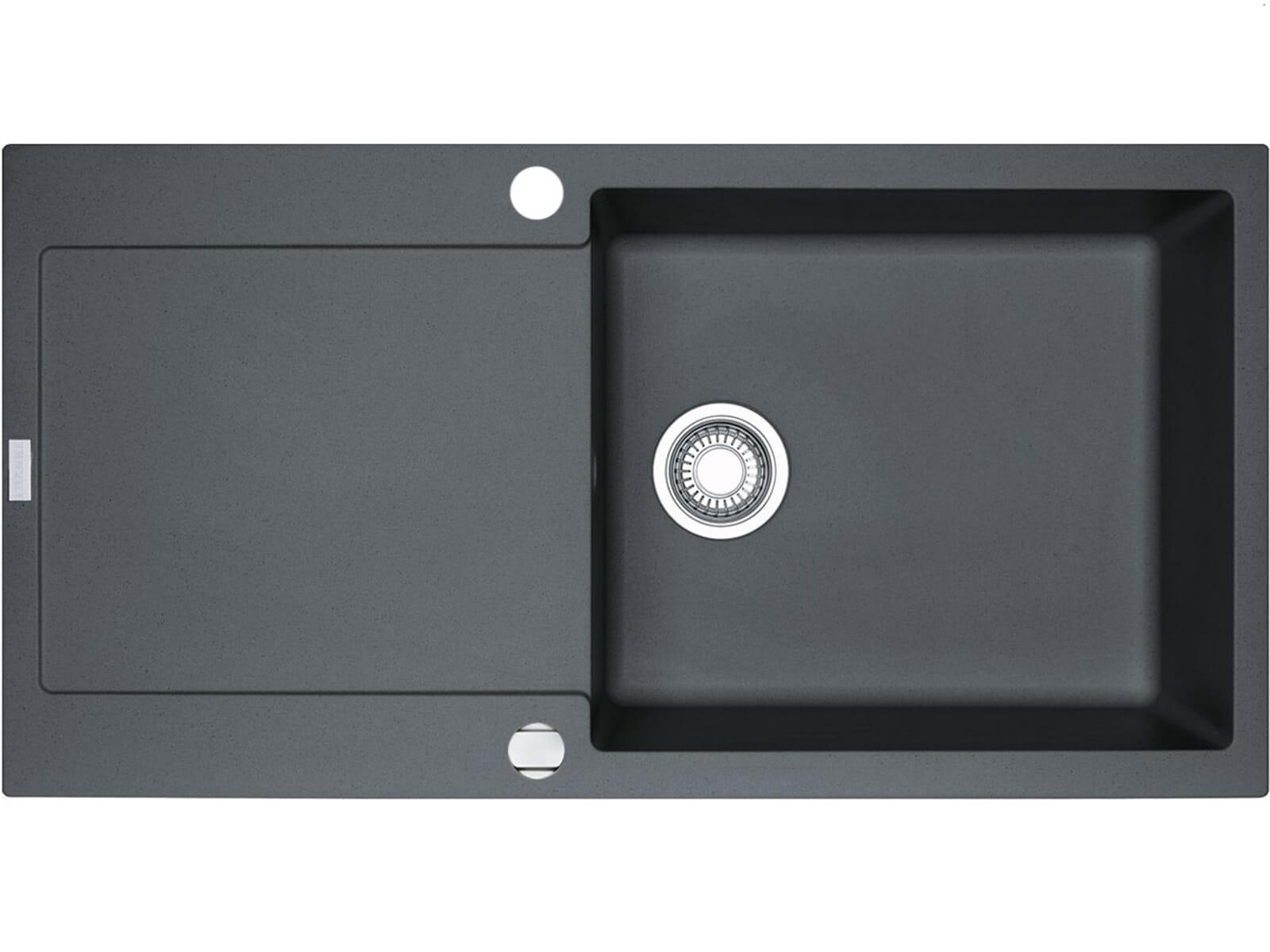 franke maris mrg 611 100 xl graphit grau granit sp ltisch m hlau bei chemnitz. Black Bedroom Furniture Sets. Home Design Ideas