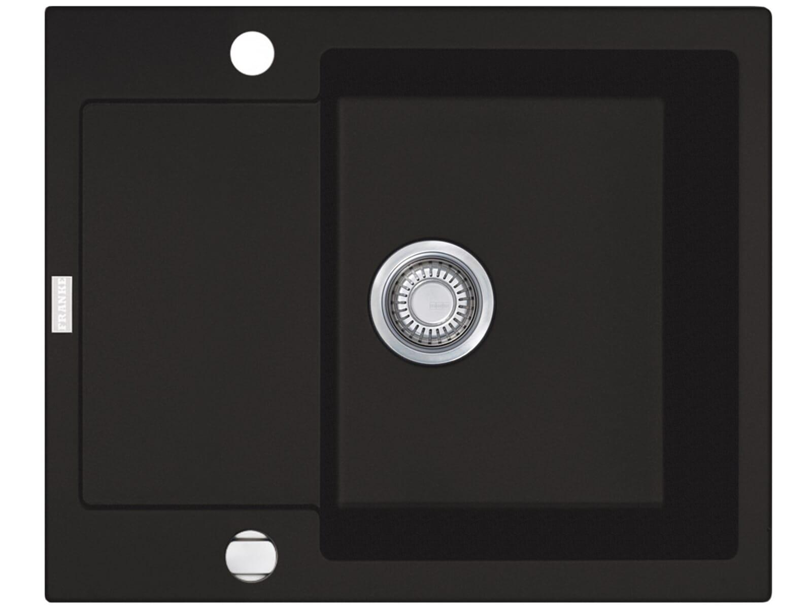 franke maris mrg 611 62 graphit granit sp lbecken k chensp le auflage drehknopf ebay. Black Bedroom Furniture Sets. Home Design Ideas