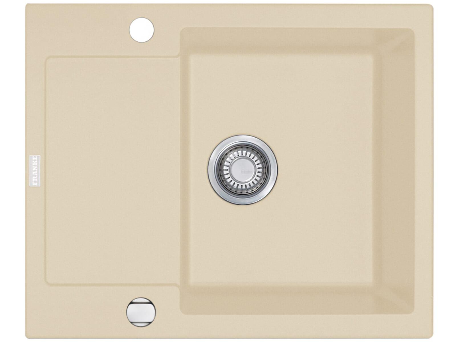 franke maris mrg 611 62 sahara granit sp le 45 us beige auflage ebay. Black Bedroom Furniture Sets. Home Design Ideas