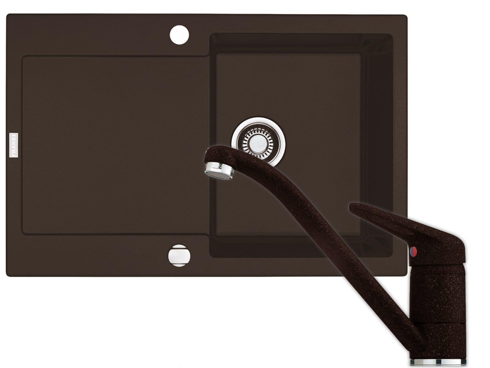 set franke fragranit sp le maris mrg 611 armatur 750. Black Bedroom Furniture Sets. Home Design Ideas