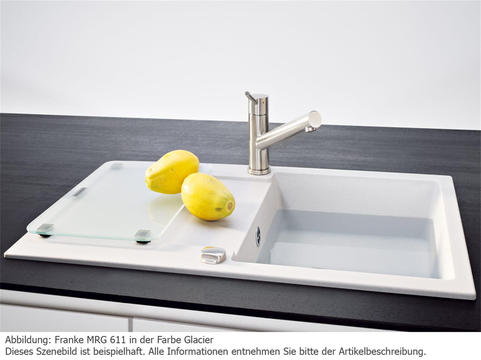 Franke Küchen-Spüle Maris MRG 611-- Fragranit