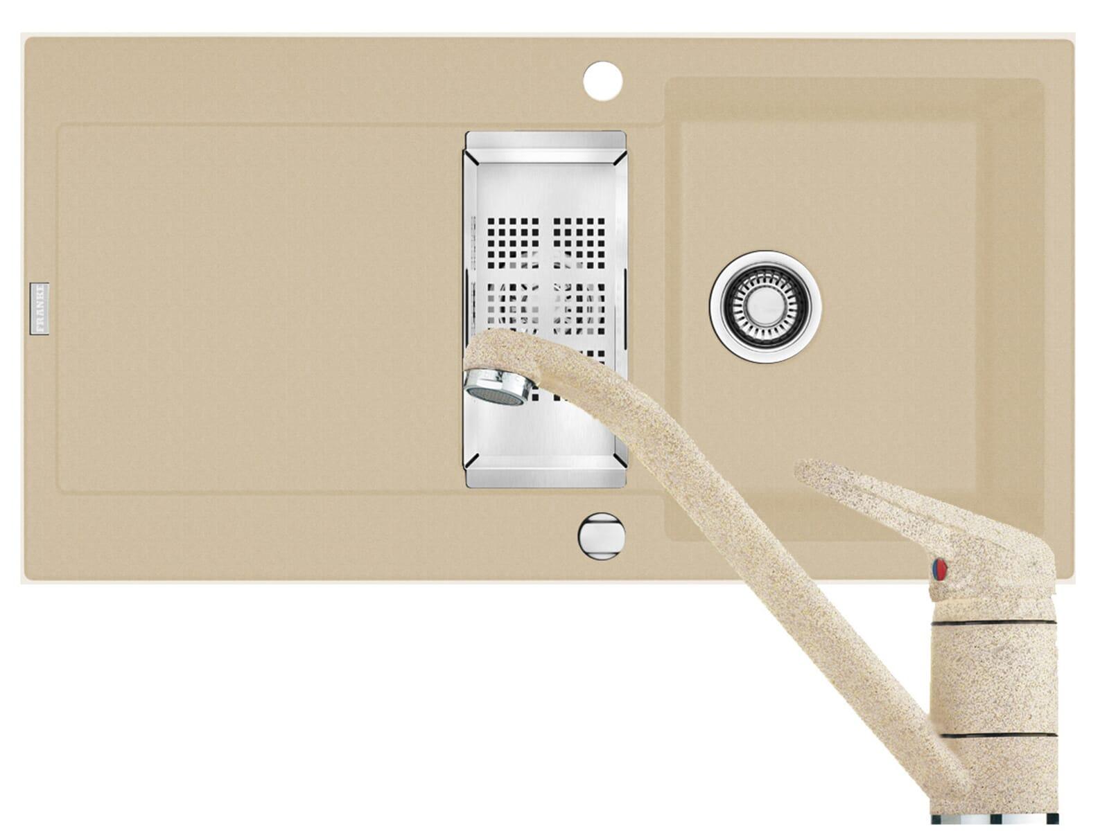 set franke fragranit sp le maris mrg 651 armatur 750. Black Bedroom Furniture Sets. Home Design Ideas
