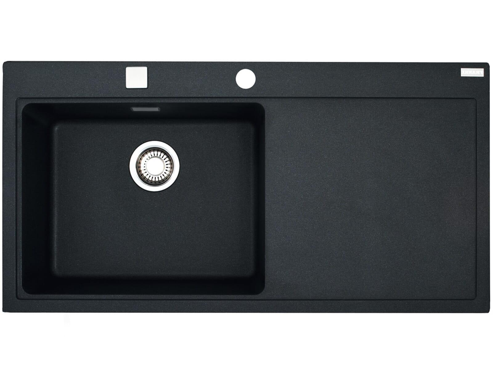 franke mythos mtg 611 graphit granit sp le schwarz gro es sp lbecken einbausp le. Black Bedroom Furniture Sets. Home Design Ideas