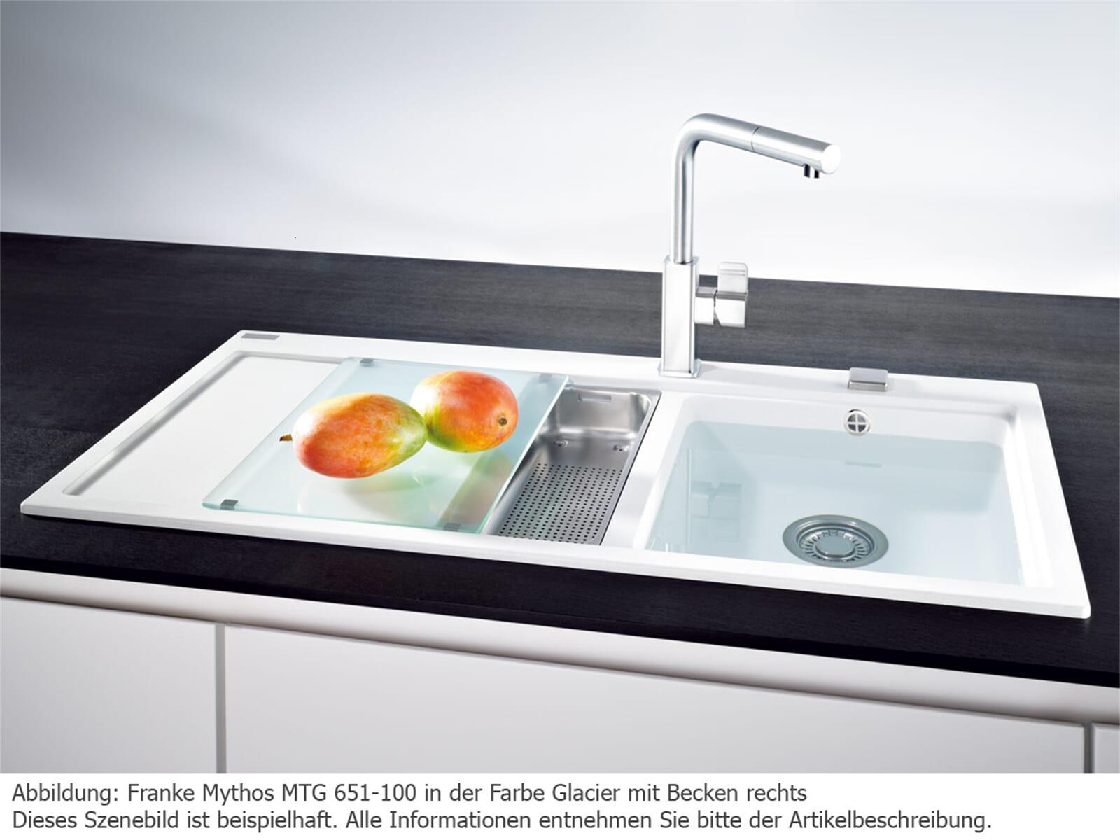 franke mythos mtg 651 100 steingrau granit sp le 60 us ebay. Black Bedroom Furniture Sets. Home Design Ideas