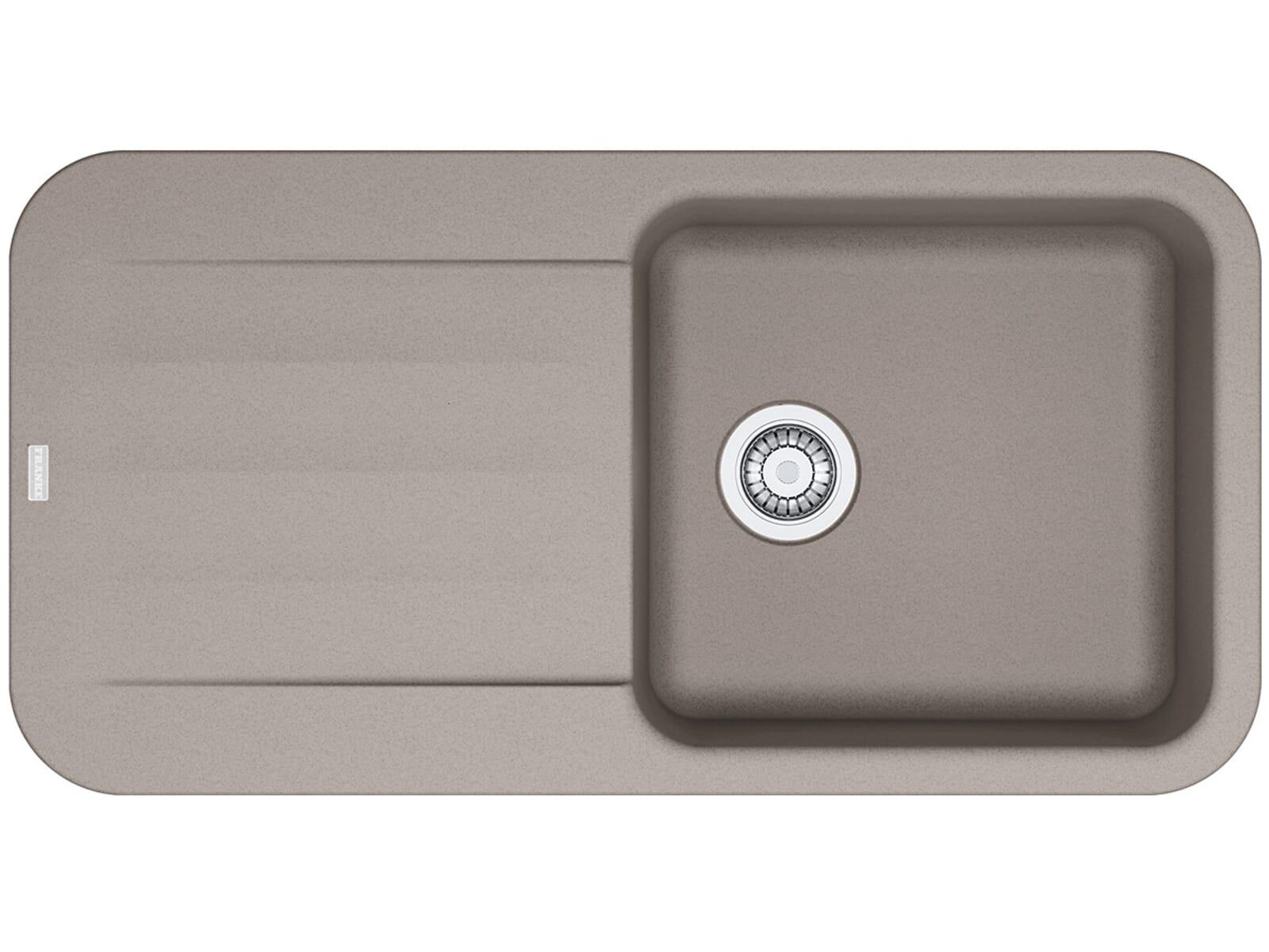 franke pebel pbg 611 97 cashmere granit grau k chensp le sp lbecken einbausp le ebay. Black Bedroom Furniture Sets. Home Design Ideas