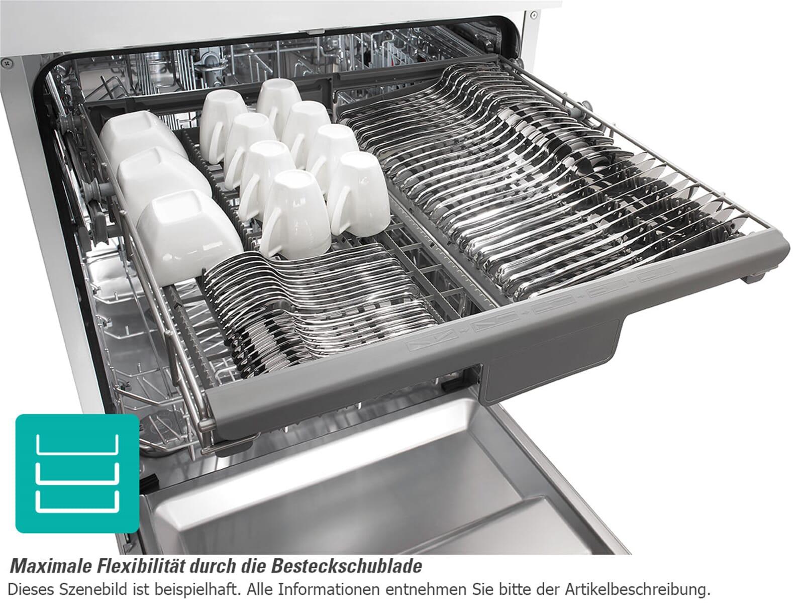 Gorenje gv 66160 vollintegrierbarer einbau geschirrspuler for Spülmaschine besteckschublade
