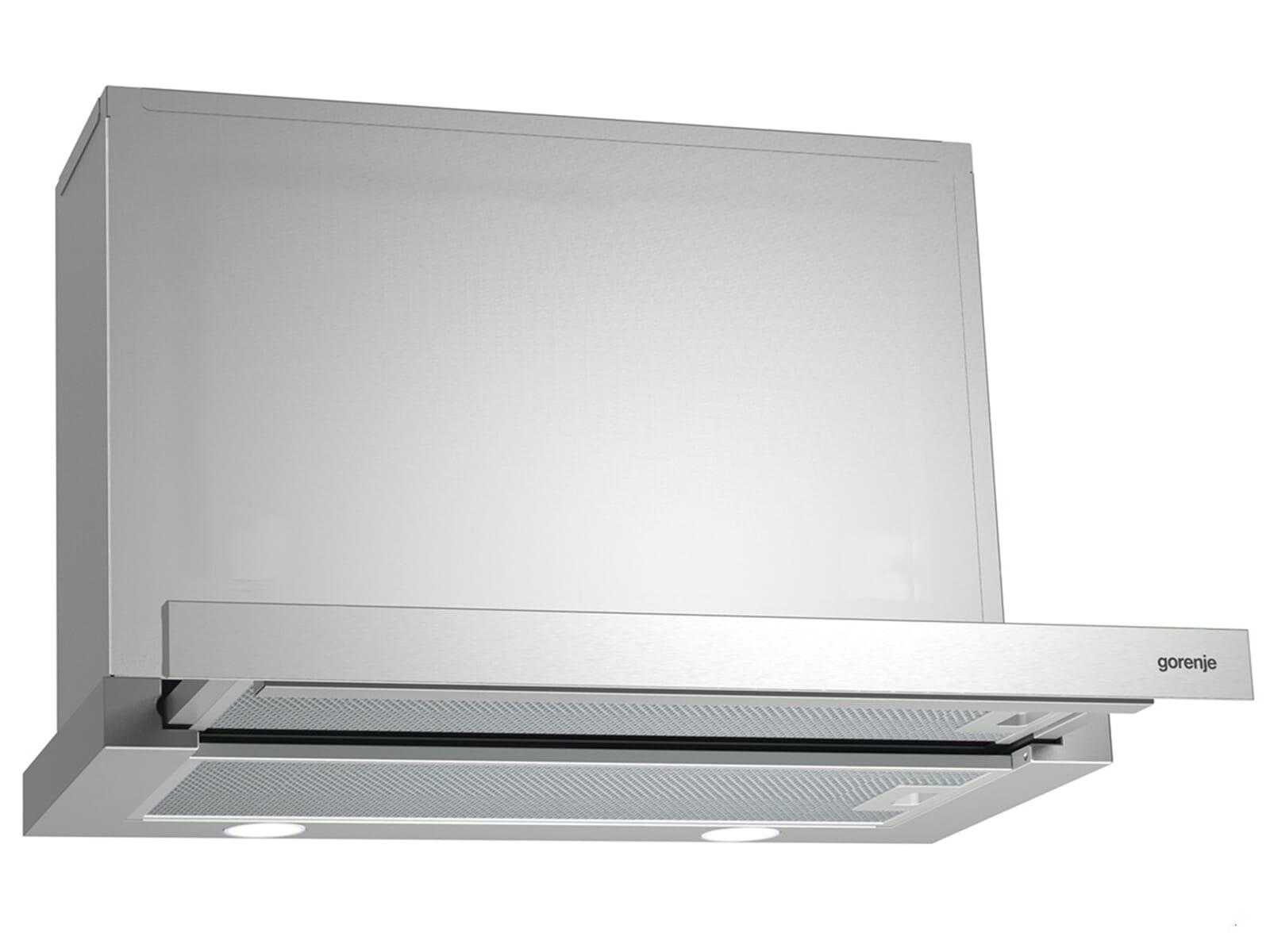 gorenje bhp 613 e7x flachschirm dunstabzugshaube edelstahl f r 138 90 eur. Black Bedroom Furniture Sets. Home Design Ideas