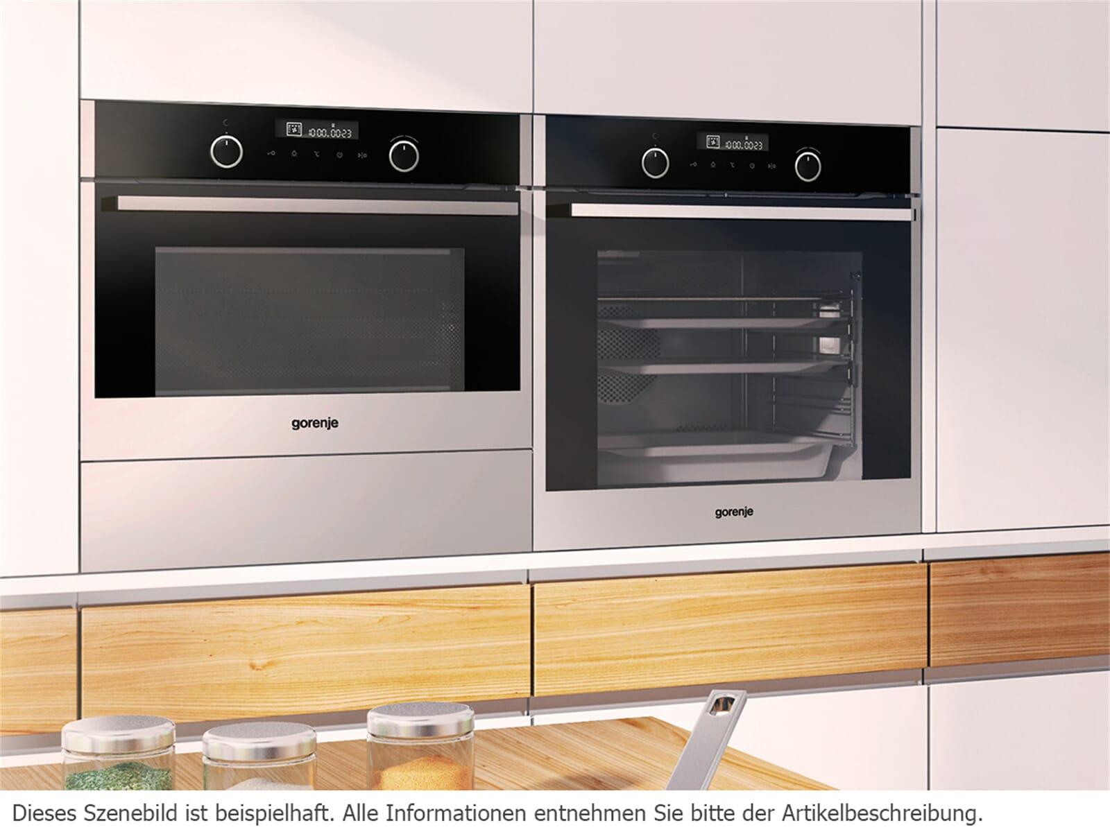 gorenje bo 547 s10x kompakt backofen edelstahl. Black Bedroom Furniture Sets. Home Design Ideas