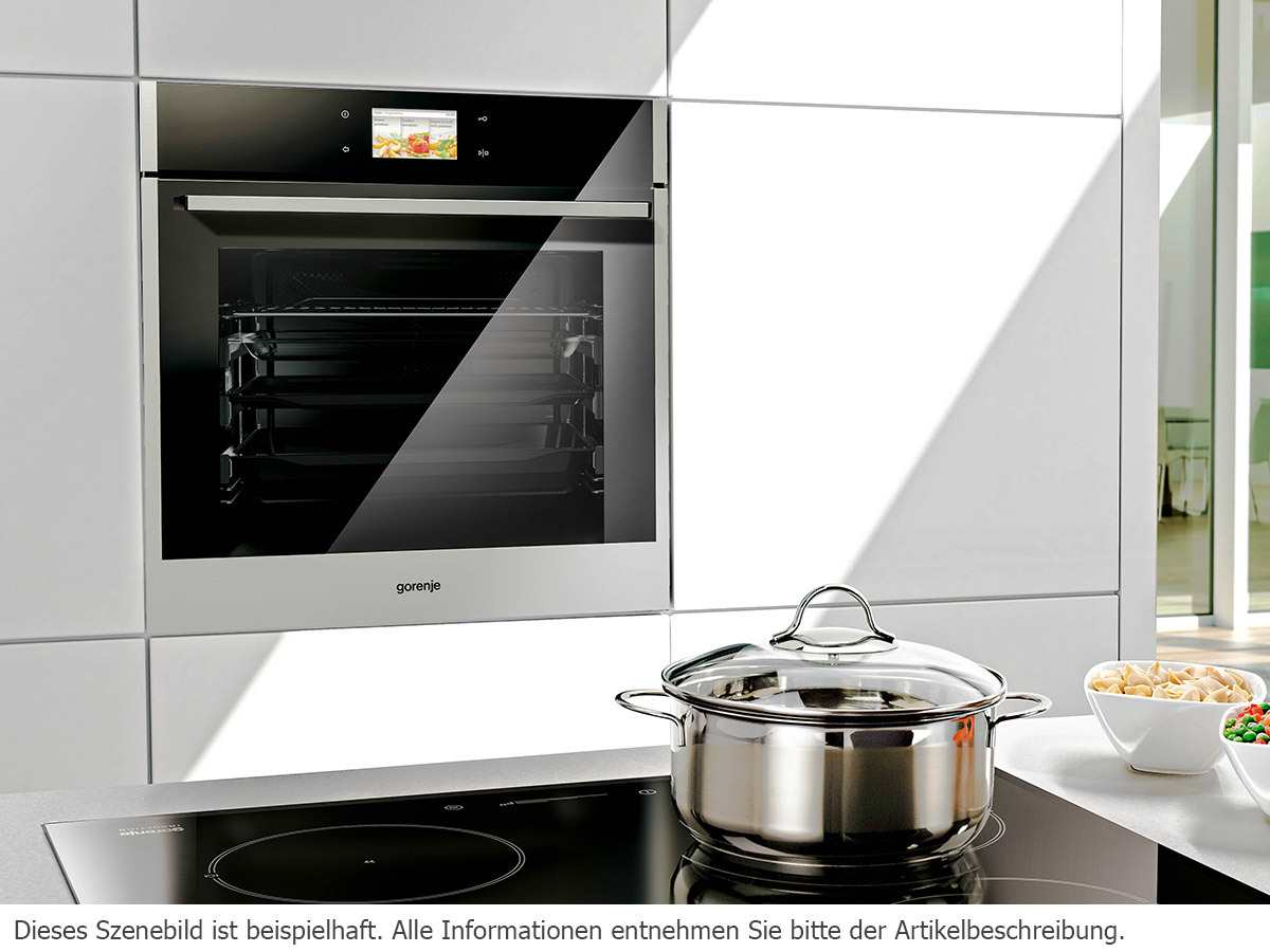 gorenje bop 799 s51x pyrolyse backofen edelstahl einbaubackofen ebay. Black Bedroom Furniture Sets. Home Design Ideas