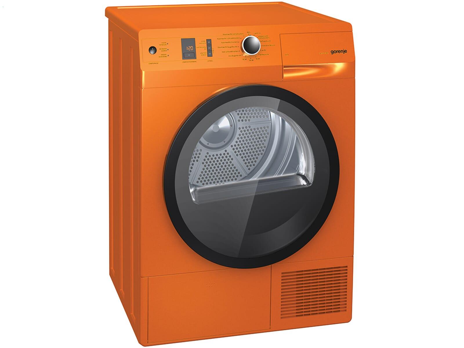 gorenje d 85f66 no stand trockner orange. Black Bedroom Furniture Sets. Home Design Ideas