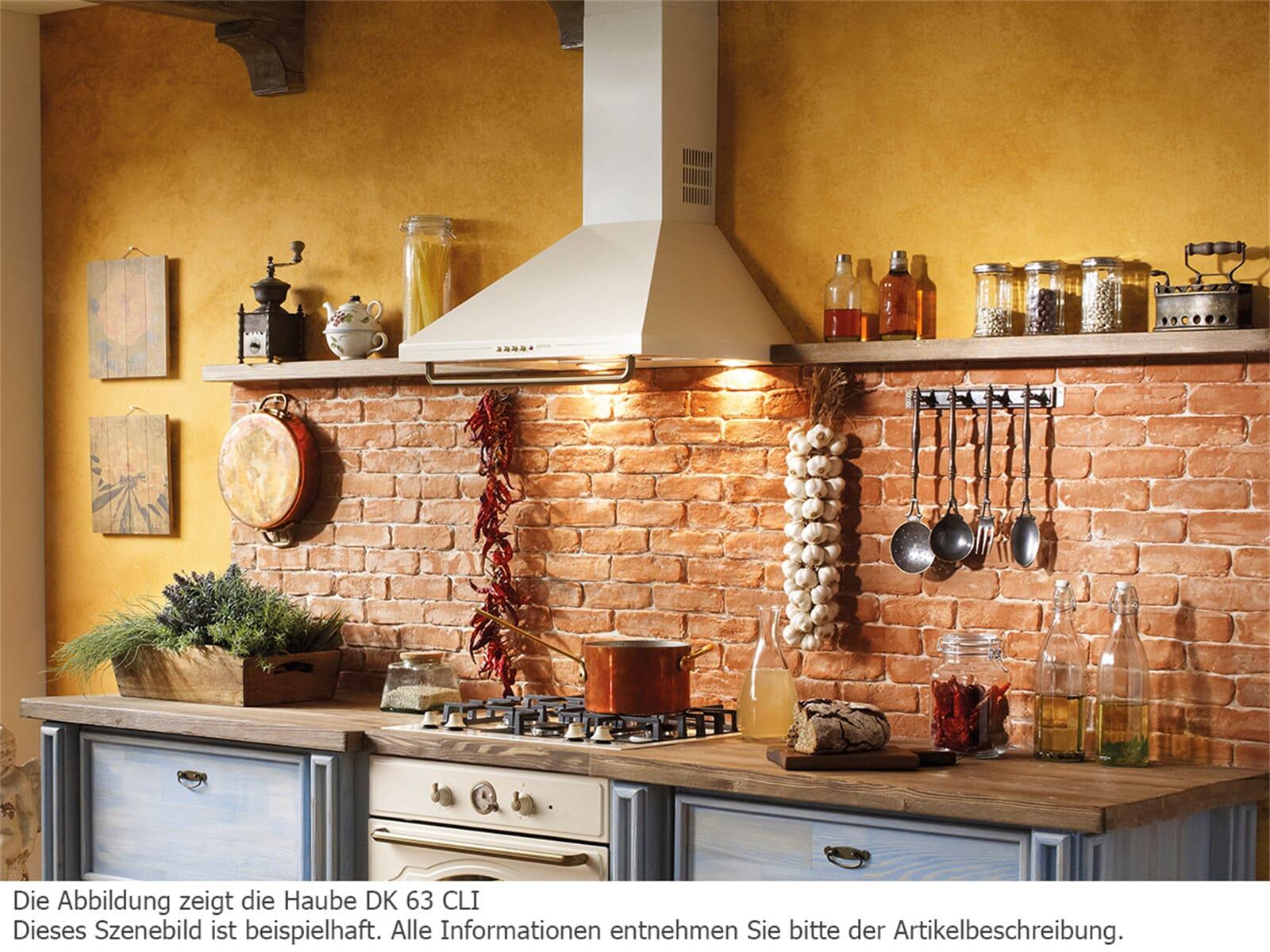 gorenje dk 63 cli classico wand dunstabzugshaube elfenbein beige abzugshaube ebay. Black Bedroom Furniture Sets. Home Design Ideas