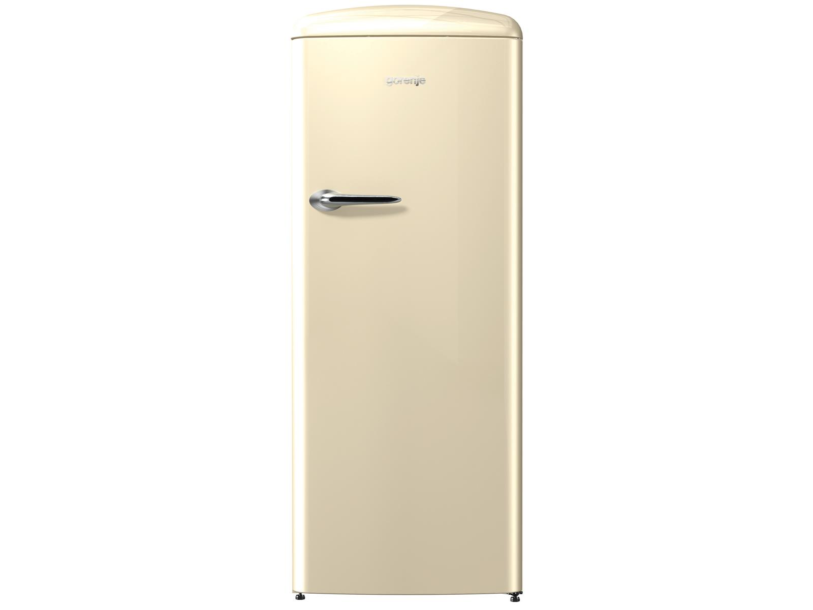 gorenje orb 153 c stand k hlschrank champagne beige standger t mit gefrierfach ebay. Black Bedroom Furniture Sets. Home Design Ideas
