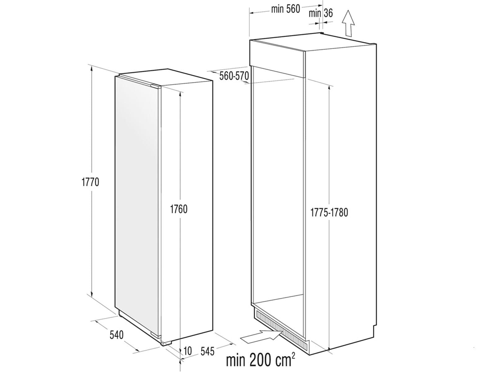 gorenje rbi 5182 bw einbau k hlschrank 3838942708312 ebay. Black Bedroom Furniture Sets. Home Design Ideas