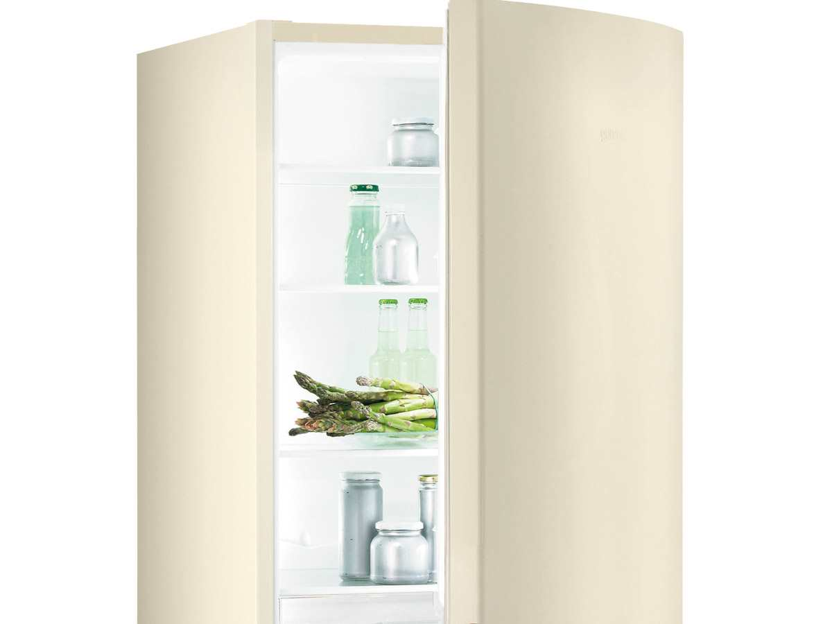 gorenje rk 61620 c stand k hl gefrier kombination beige ebay. Black Bedroom Furniture Sets. Home Design Ideas