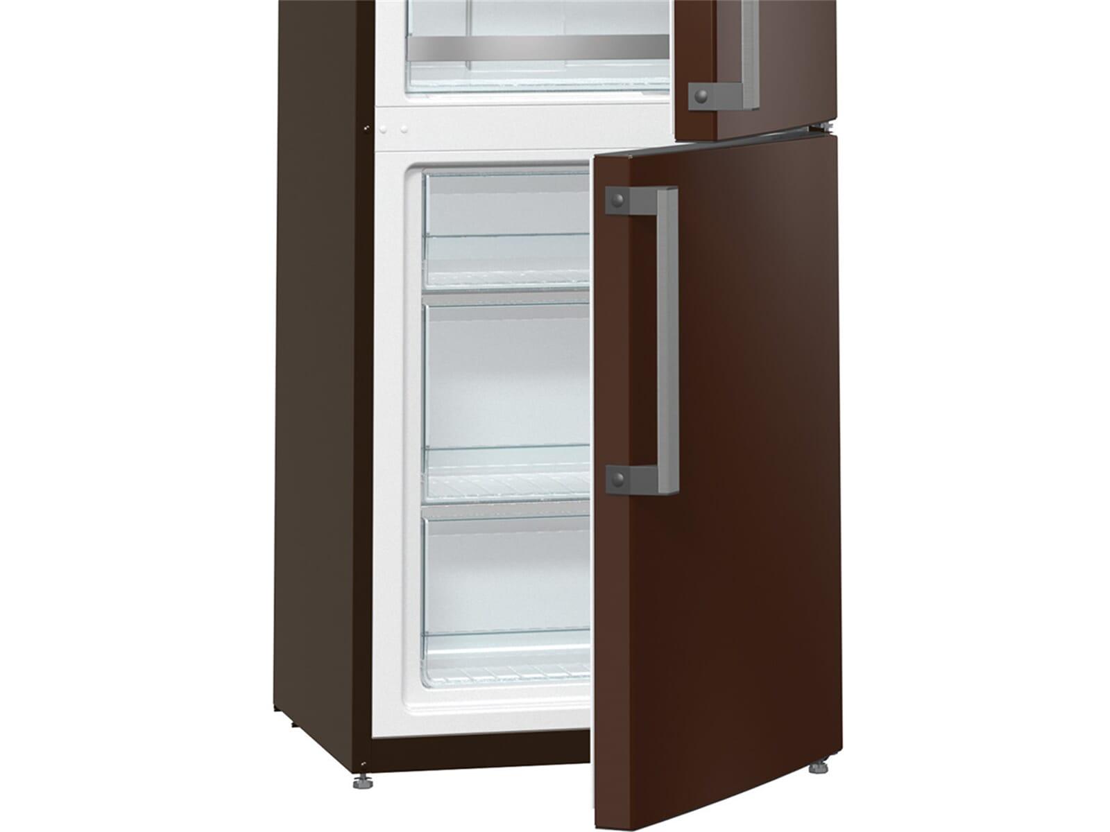 gorenje rk 6193 kch stand k hl gefrier kombination braun f r 558 80 eur. Black Bedroom Furniture Sets. Home Design Ideas