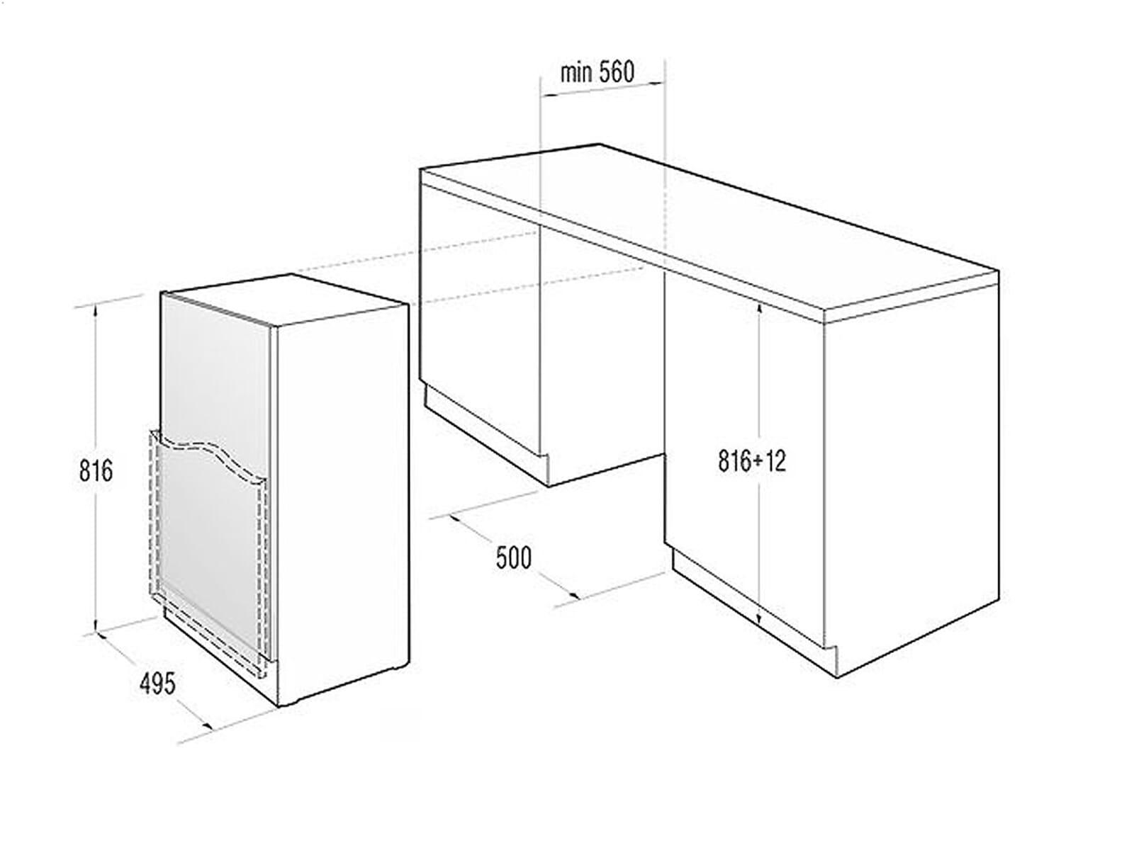 gorenje ru 5004 a unterbau k hlschrank f r 288 80 eur. Black Bedroom Furniture Sets. Home Design Ideas