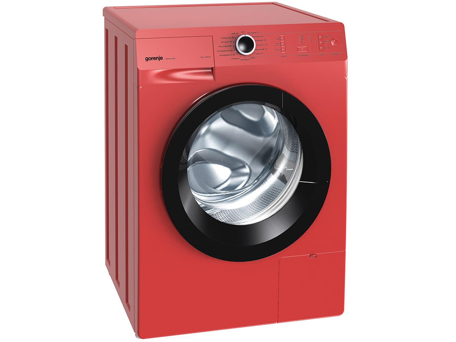gorenje w7243pr stand waschmaschine rot f r 348 90 eur. Black Bedroom Furniture Sets. Home Design Ideas