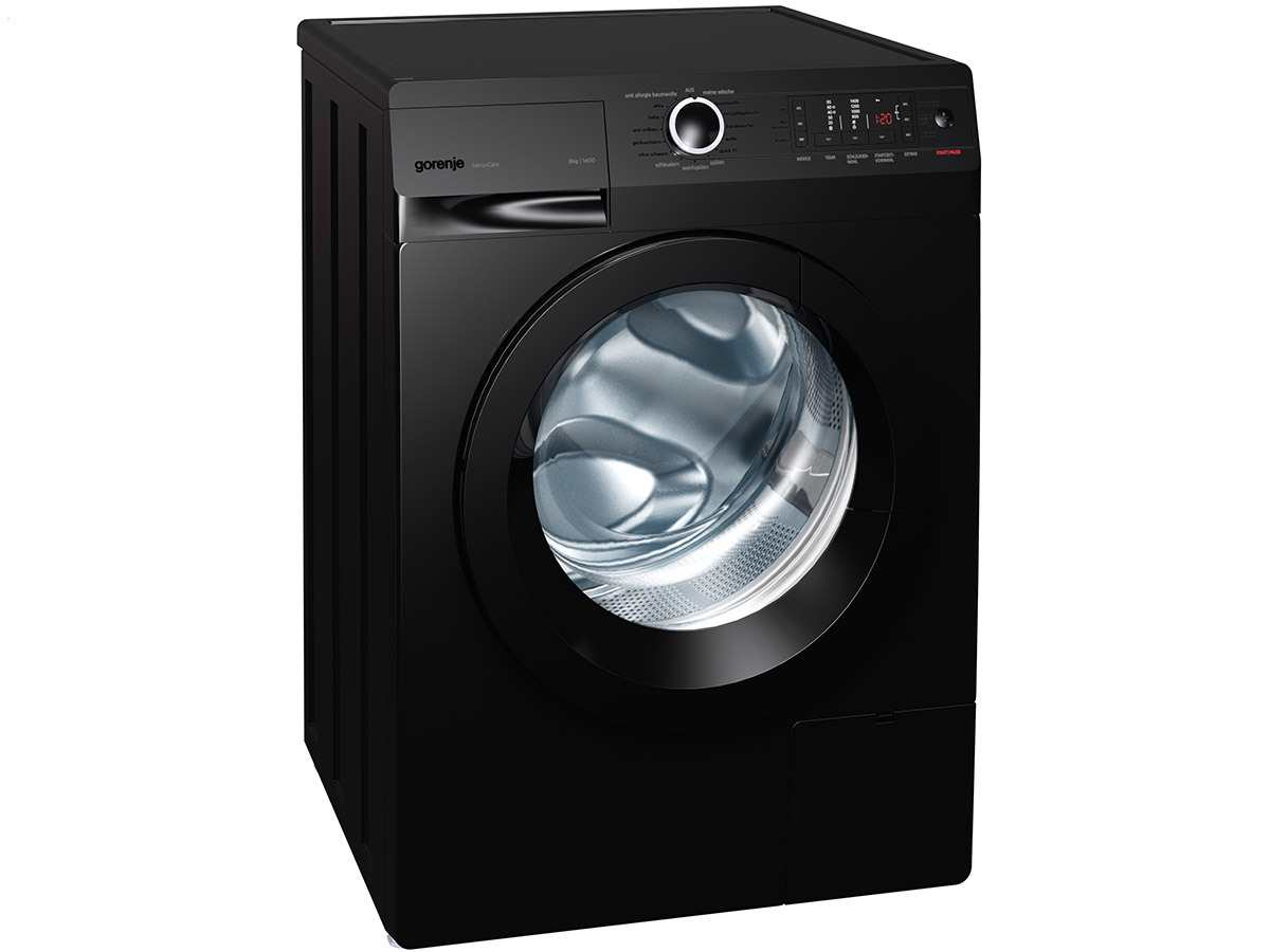 gorenje w 8543 tb stand waschmaschine schwarz. Black Bedroom Furniture Sets. Home Design Ideas