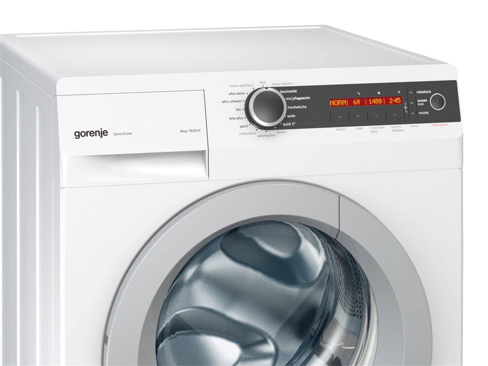 gorenje w 8665 i stand waschmaschine wei ebay. Black Bedroom Furniture Sets. Home Design Ideas