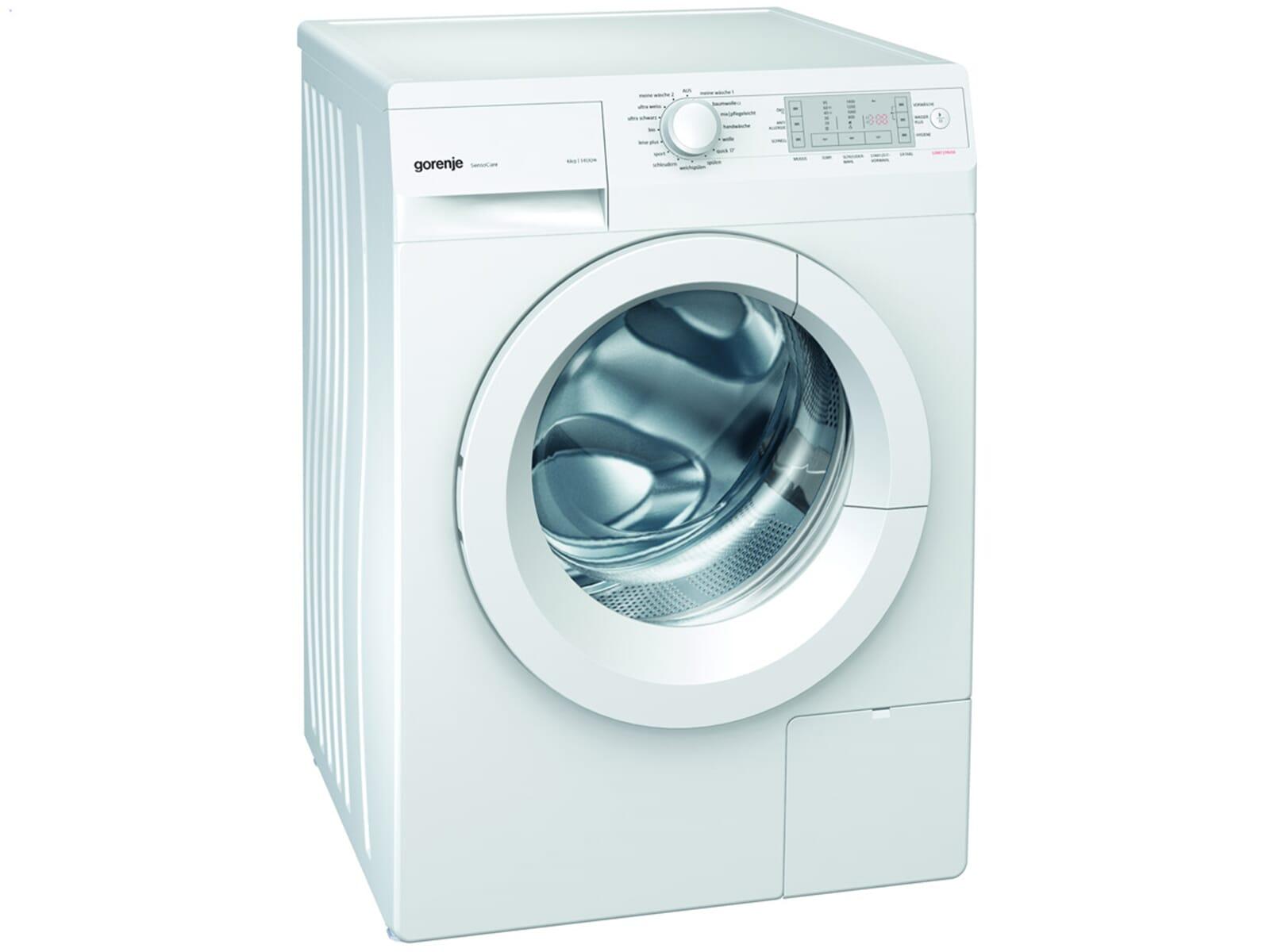gorenje wa 6840 stand waschmaschine wei frontlader waschvollautomat w sche. Black Bedroom Furniture Sets. Home Design Ideas
