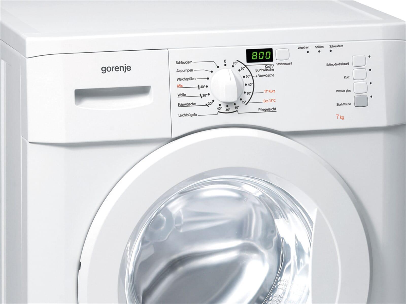 gorenje wa 70149 stand waschmaschine wei ebay. Black Bedroom Furniture Sets. Home Design Ideas