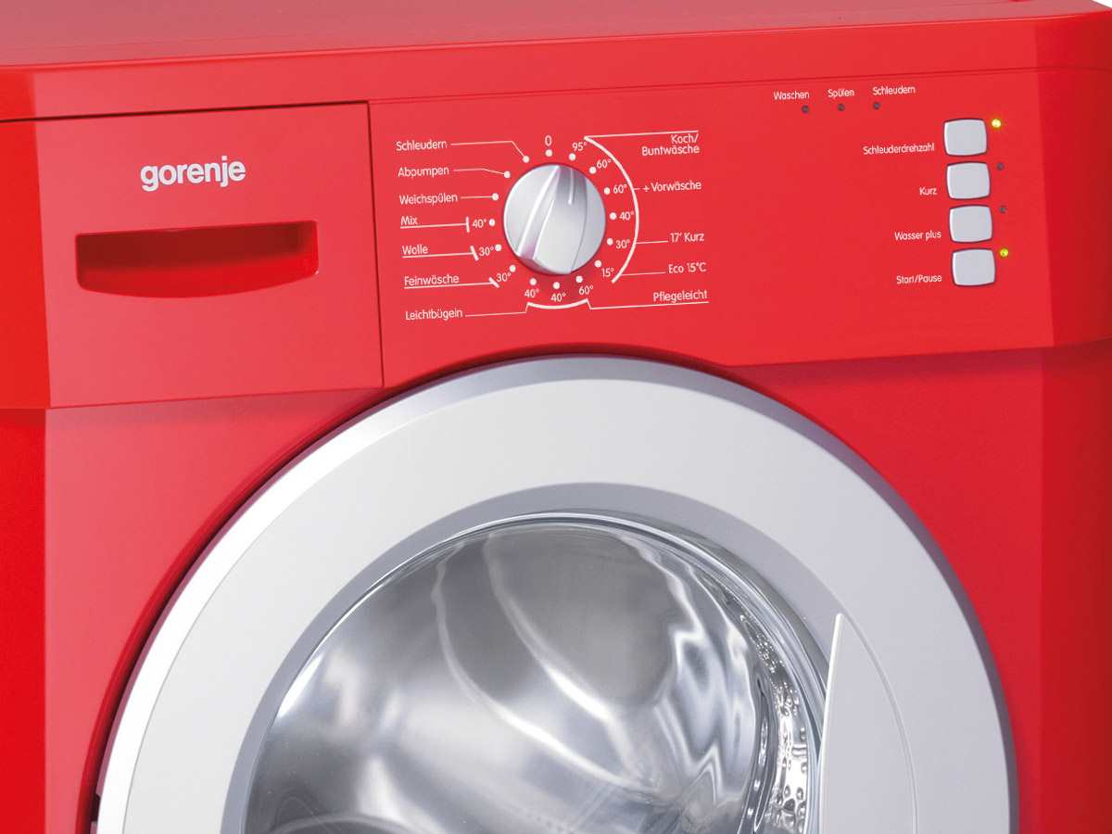 gorenje wa 735 rd stand waschmaschine rot f r 318 90 eur. Black Bedroom Furniture Sets. Home Design Ideas