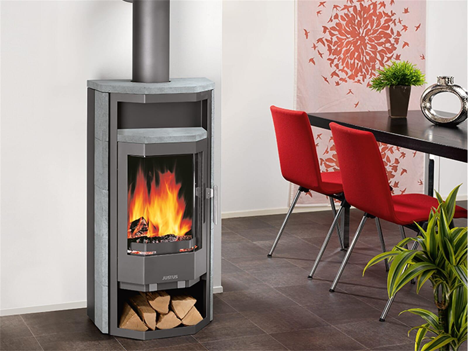 kaminofen justus borkum speckstein 6 0 kw 4682 22 ebay. Black Bedroom Furniture Sets. Home Design Ideas