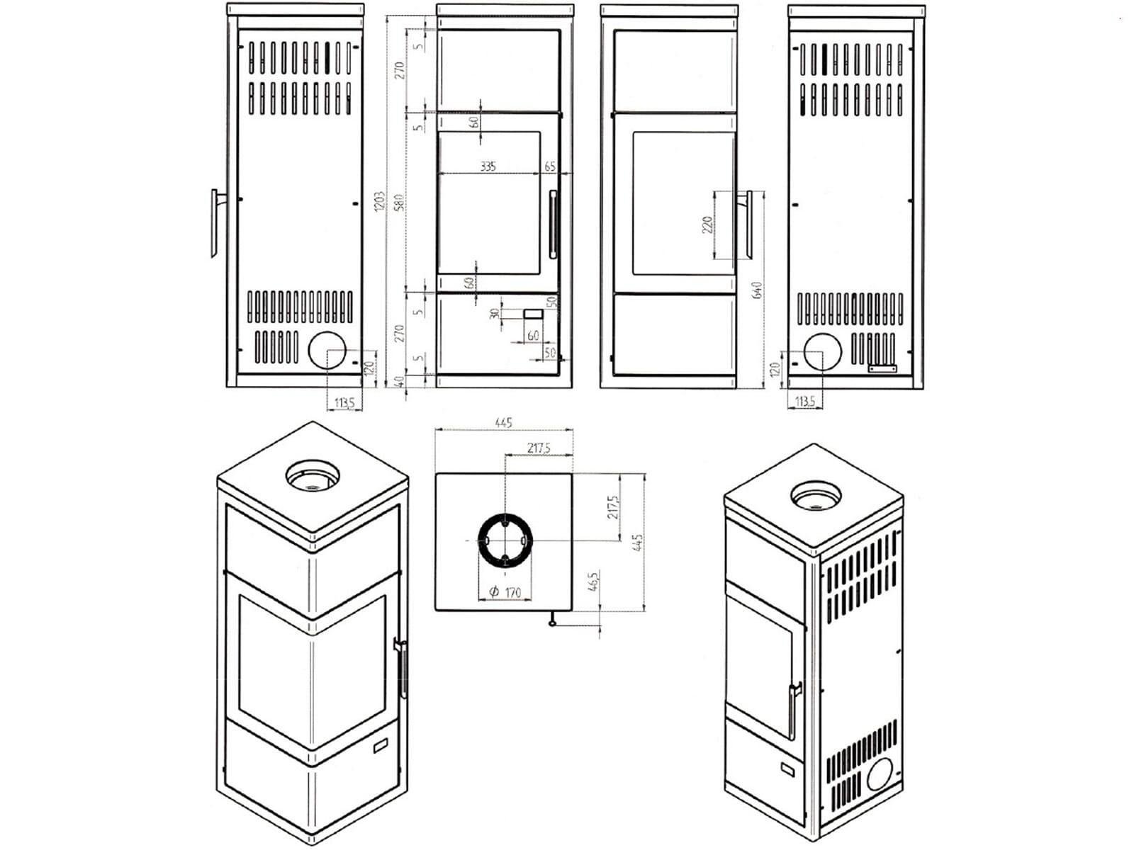 justus diego w rmeplus kaminofen stahl schwarz abdeckplatte speckstein 6kw kamin ebay. Black Bedroom Furniture Sets. Home Design Ideas