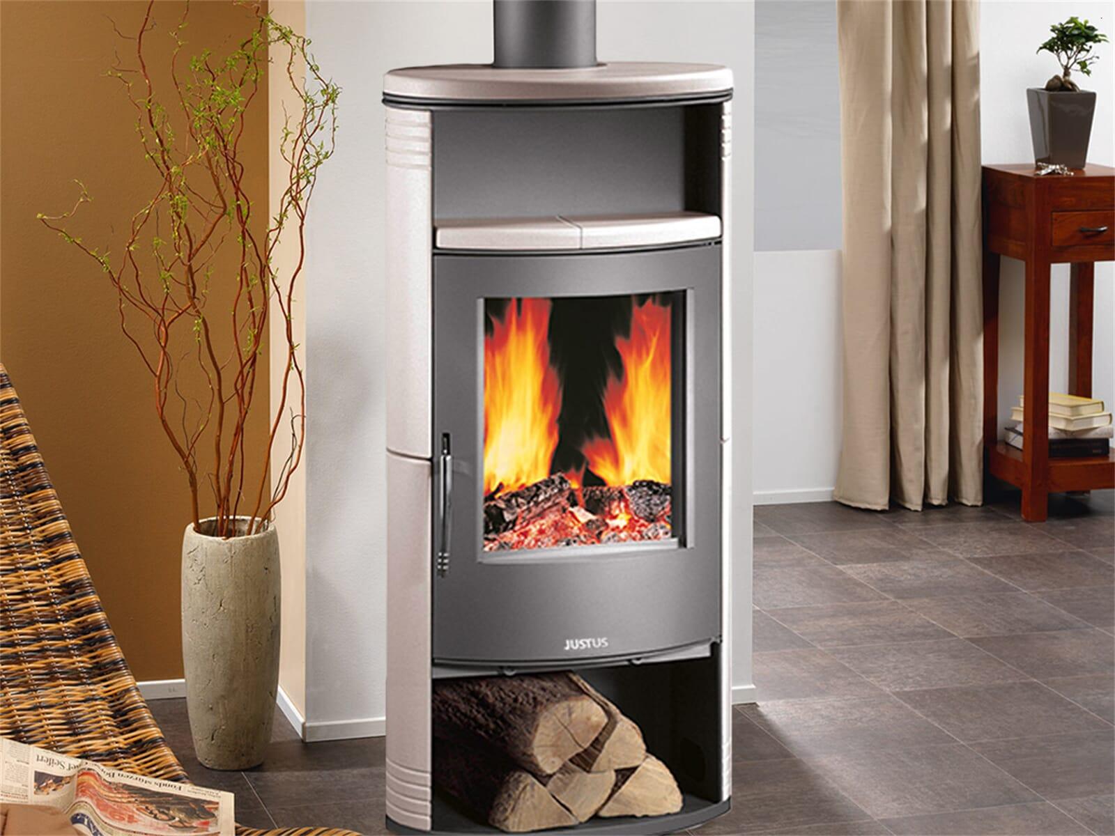 justus island 5 4875 25 kaminofen keramik ahorn wei f r 1174 90 eur. Black Bedroom Furniture Sets. Home Design Ideas