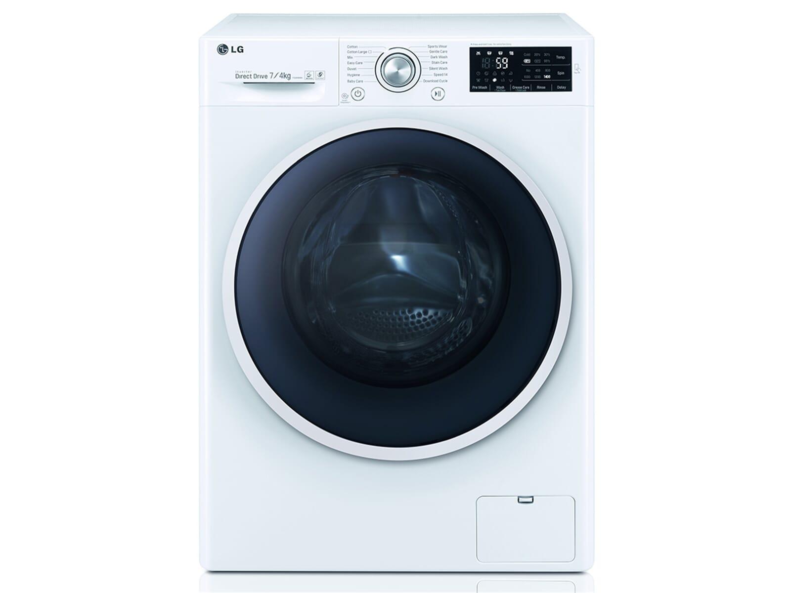 lg f 12u2 hdm0nh stand waschtrockner wei waschmaschine trockner. Black Bedroom Furniture Sets. Home Design Ideas