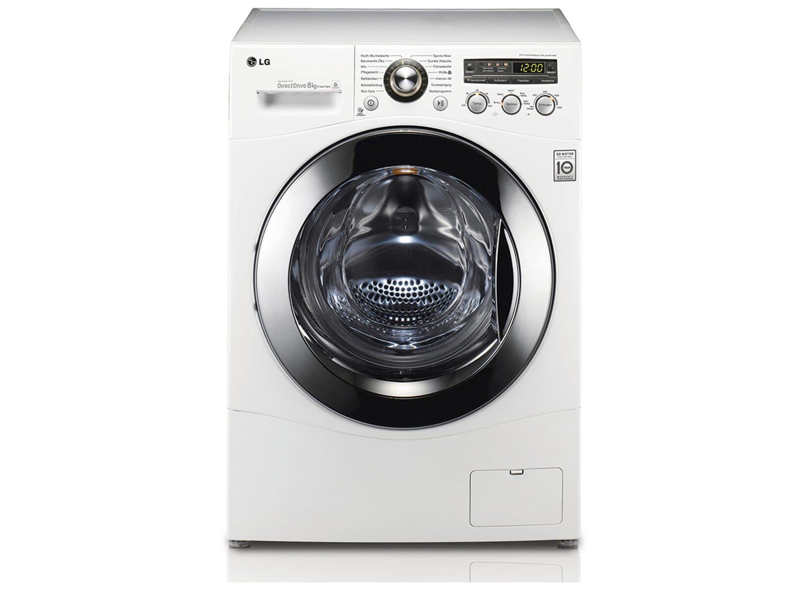 lg f 1447 td01 stand waschmaschine wei a freistehend energiesparend 8kg ebay. Black Bedroom Furniture Sets. Home Design Ideas