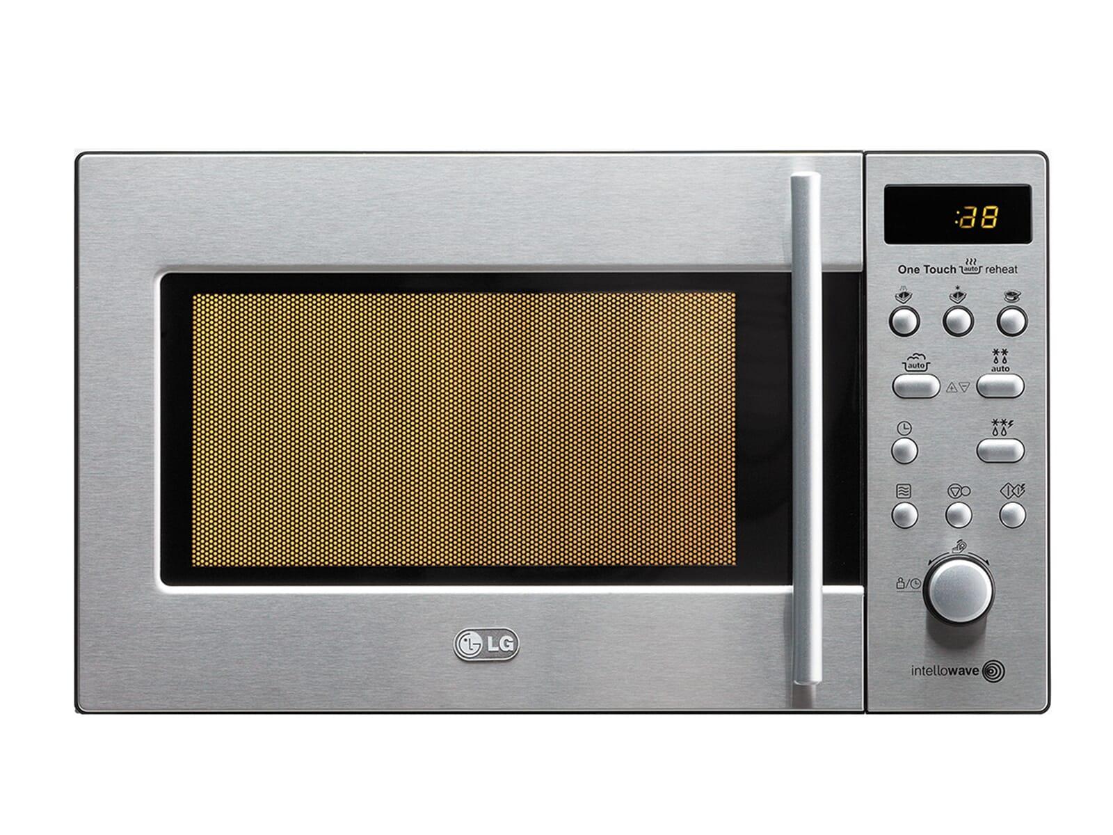 lg ms 1986 kit mikrowelle edelstahl einbau 800w gewichtsautomatik ebay. Black Bedroom Furniture Sets. Home Design Ideas