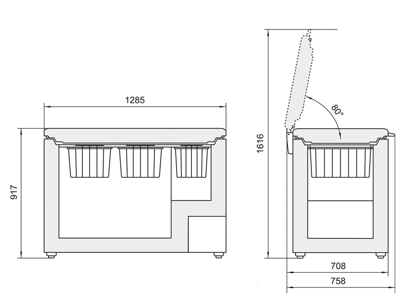liebherr gtp2756 gefriertruhe wei f r 724 90 eur shop. Black Bedroom Furniture Sets. Home Design Ideas