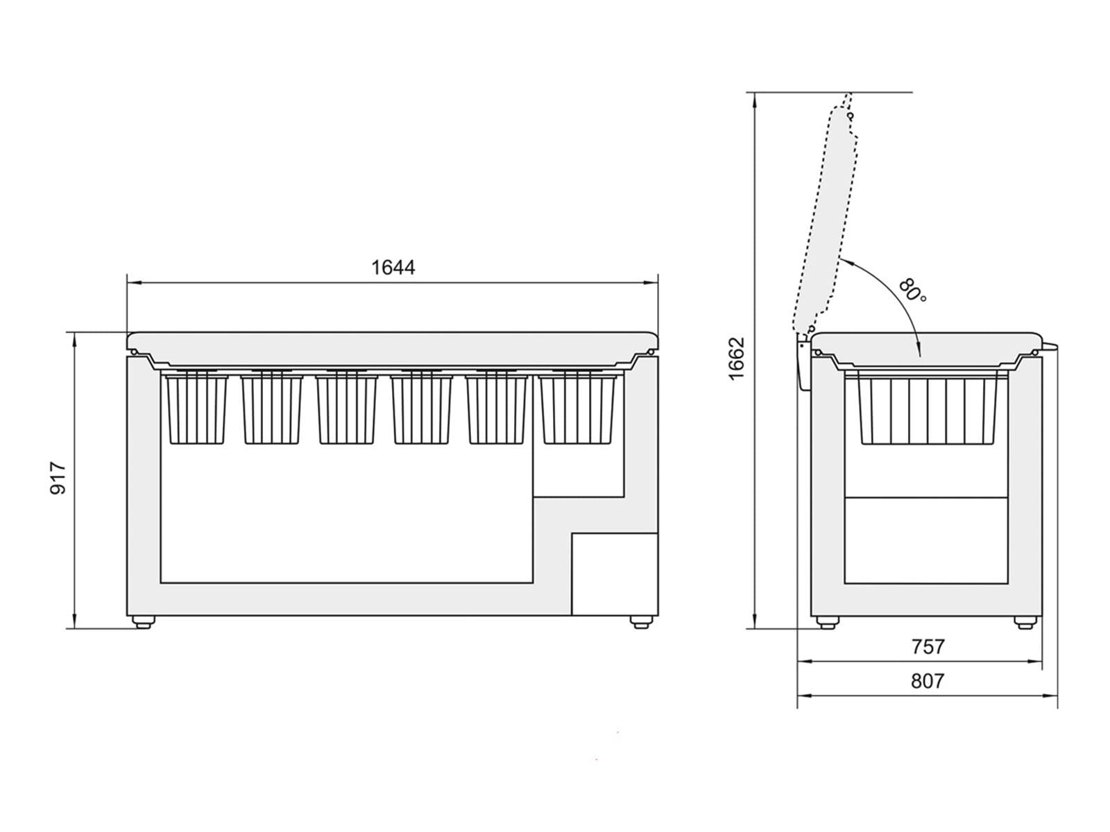 liebherr gtp4656 gefriertruhe wei f r 1124 90 eur shop. Black Bedroom Furniture Sets. Home Design Ideas